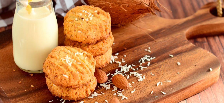 Cómo hacer galletas de coco