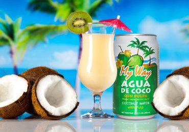 3 Cócteles refrescantes con agua de coco