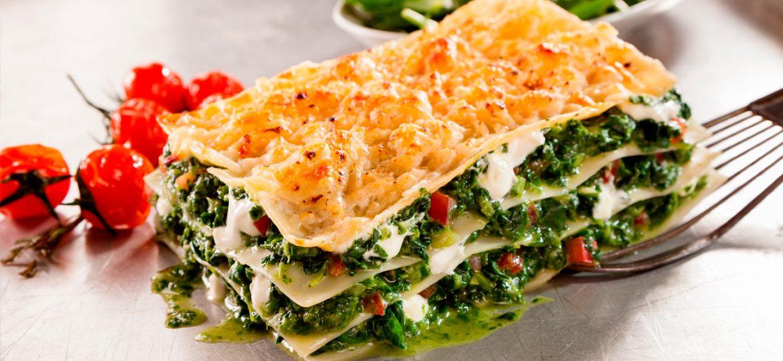 La mejor versión de lasagna vegetariana