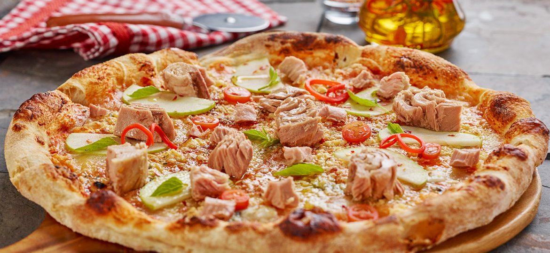 ¿Amante de la pizza? ¡Aprende hacer la versión de atún!