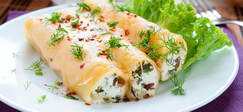 El cielo culinario: Canelones con verduras y pollo