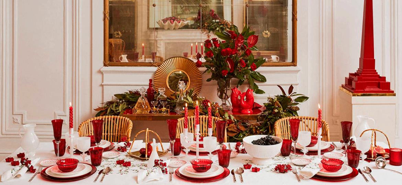 Tips para decorar la mesa en cena de navidad