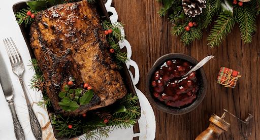 Para Navidad: Lomo de cerdo a la piña
