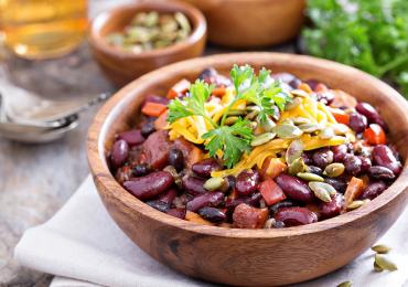Dietética, deliciosa y nutritiva: Ensalada de porotos rojos