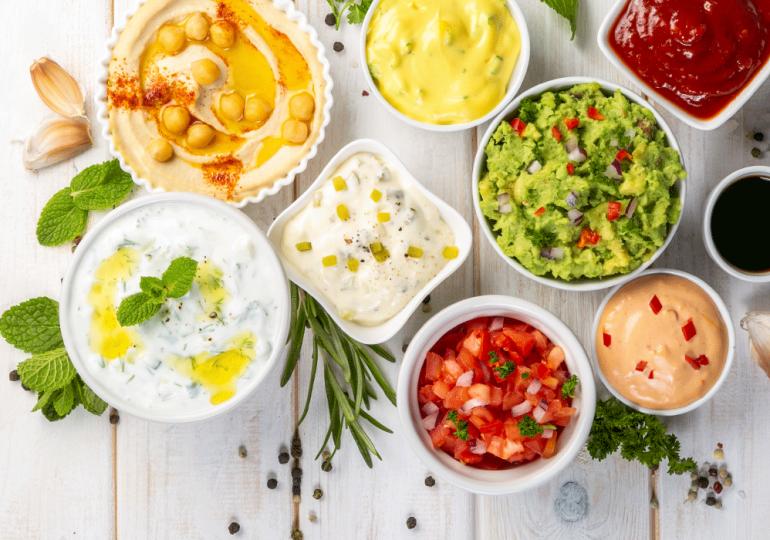 4 deliciosas salsas para tus comidas