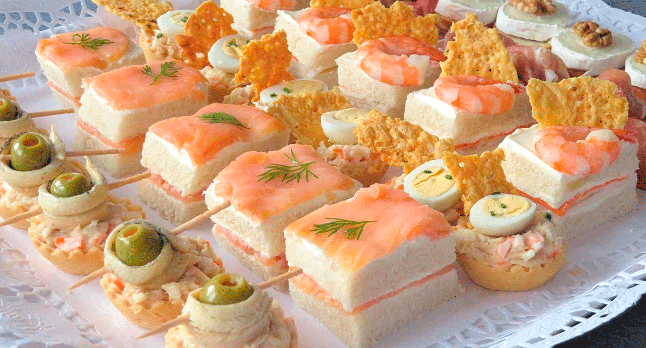 Fáciles y deliciosos: Canapés para tus fiestas